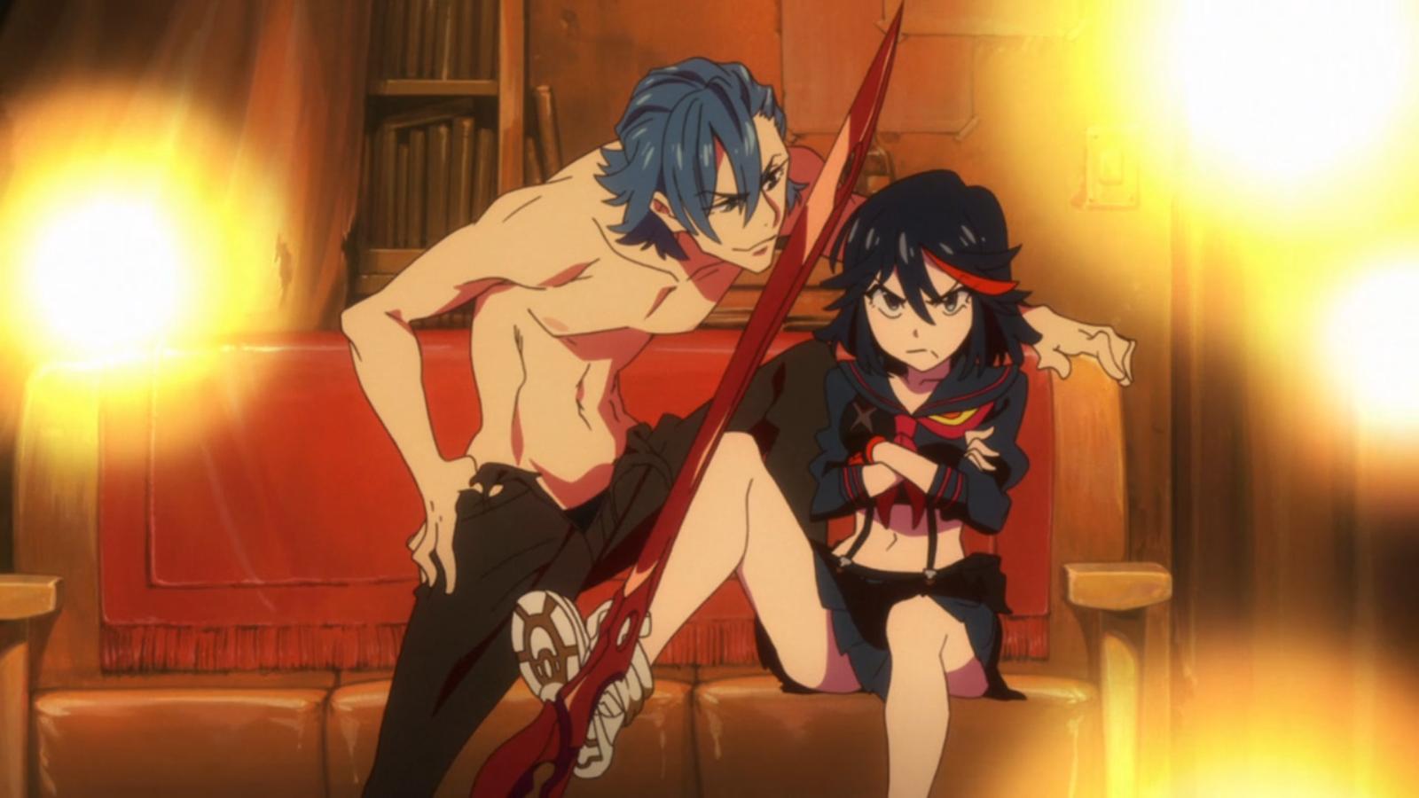 Kết quả hình ảnh cho Kill la Kill anime